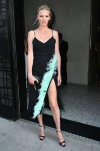 Lara Stone al Nobu Hotel Shoreditch launch, London