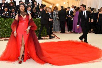 Nicki Minaj al Met Gala 2018