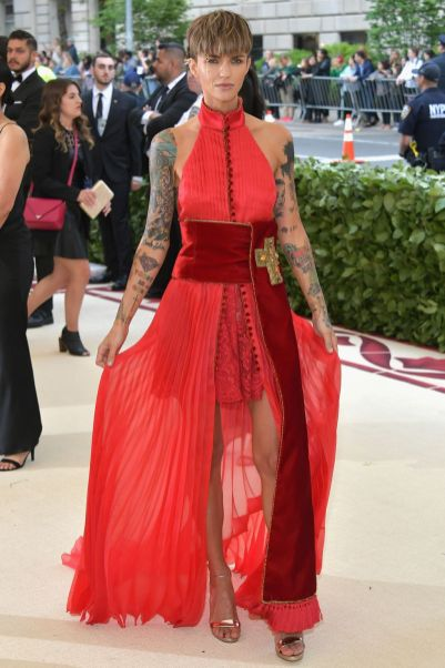 Ruby Rose al Met Gala 2018