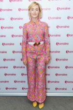 Saoirse Ronan al Lorraine show, London.
