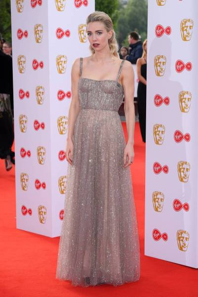 Vanessa Kirby in Dior ai British Academy Television Awards, London