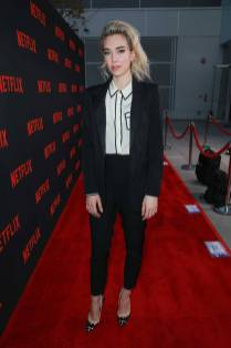 Vanessa Kirby in Racil al 'The Crown' promotional trail, Saban Media Centre Hollywood