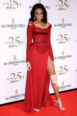 Winnie Harlow al De Grisogono Party, Cannes film Festival