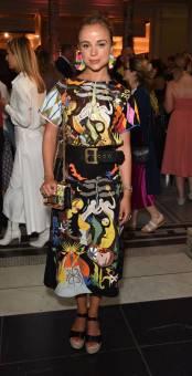 Amelia Windsor al 'Frida Kahlo Making Her Self Up' preview, London