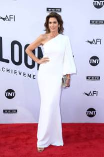 Cindy Crawford in Stella McCartney ai AFI Life Achievement Award, Los Angeles
