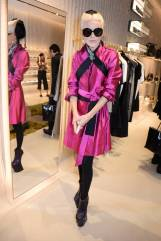 Daphne Guinness al Stella McCartney 23 Bond Street store opening, London