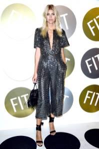 Devon WIndsor al FIT's 2018 Annual Awards Gala, New York