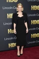 Emilia Clarke in Zac Posen all'American Songbook Gala, New York