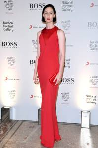 Erin O'Connor in BOSS al 'Michael Jackson On The Wall' private view sponsored by Hugo Boss, London