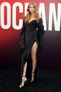 Gigi Hadid in Vera Wang all''Ocean's 8' World Premiere, New York
