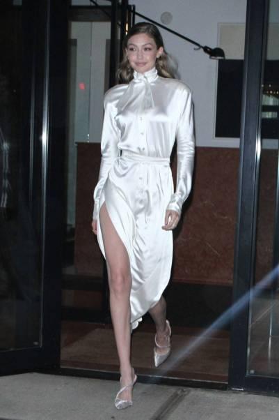 Gigi Hadid in Vivienne Westwood