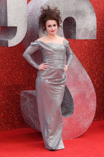 Helena Bonham Carter in Vivienne Westwood all''Ocean's 8' film premiere, London