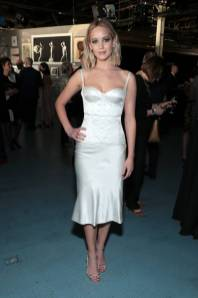 Jennifer Lawrence in Olivier Theyskens al BAM Gala, New York