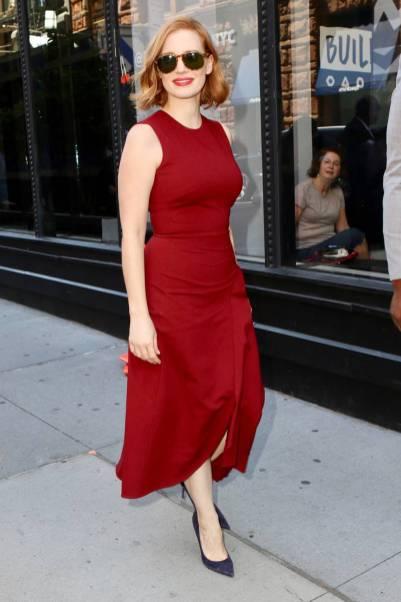 Jessica Chastain, NY