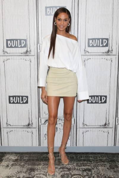 Joan Smalls ai Build Series, New York