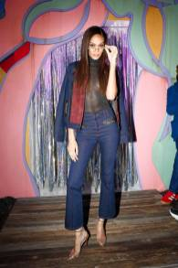 Joan Smalls ai Life Coach launch party, New York