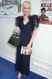 Katy Perry in Stella McCartney allo spettacolo Killer Joe, London.