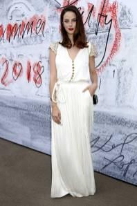 Kaya Scodelario in Chanel al Serpentine Summer Party 2018, London