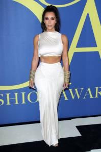 Kim Kardashian West in Rick Owens ai CFDA Awards 2018