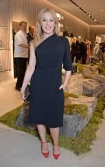 Kylie Minogue in Stella McCartney al Stella McCartney 23 Bond Street store opening, London