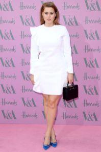 La Principessa Beatricei in MSGM al V&A summer party, London