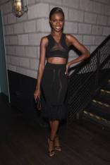 Leomie Anderson al 'Backstage Secrets By Russell James' book launch, New York