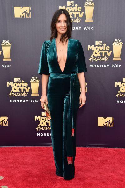 Olivia Munn in Galvan agli MTV Movie & TV Awards 2018