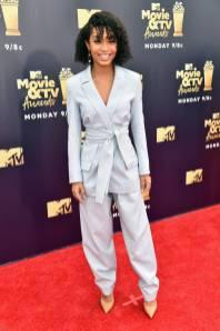 Yara Shahidi in Tory Burch agli MTV Movie and TV Awards, Santa Monica