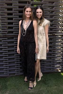 Yasmin e Amber Le Bon in Chanel al Serpentine Summer Party 2018, London