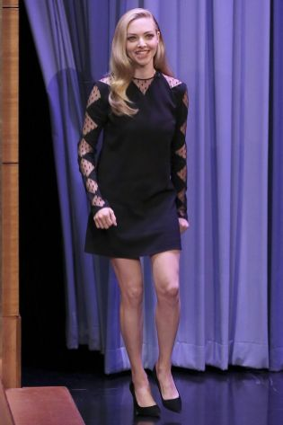 Amanda Seyfried al The Tonight Show.