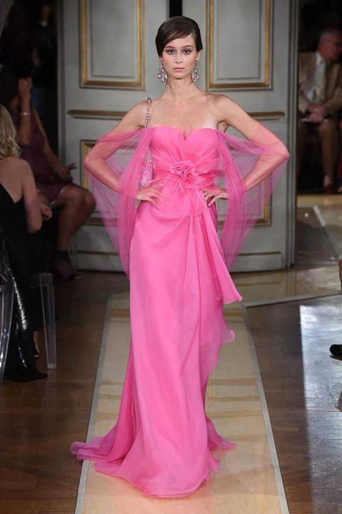 Paris Haute Couture – l'opulenza eccentrica di Armani Privè
