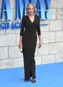 Christina Baranski in Balmain alla 'Mamma Mia! Here We Go Again' film premiere, London