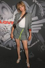 Edie Campbell al Charles Jeffrey LOVERBOY x M·A·C Pro Party , London