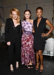 Elisabeth Moss, Alexis Bledel e Samira Wiley al 'The Handmaid's Tale' Hulu finale, Los Angeles
