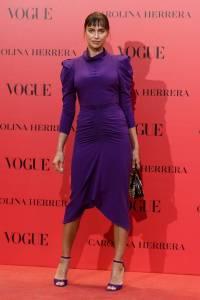 Irina Shayk al Vogue 30th anniversary party, Madrid
