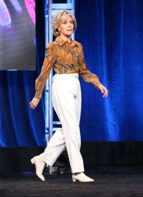 Jane Fonda al Summer 2018 TCA press tour, California