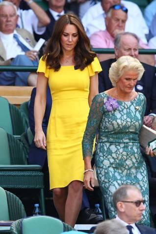 La Duchessa di Cambridge in Dolce & Gabbana a Wimbledon, London