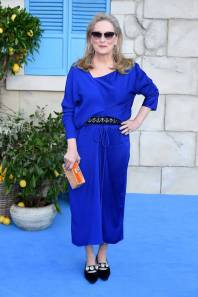Meryl Streep in Marni alla 'Mamma Mia! Here We Go Again' film premiere, London
