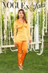 Priyanka Chopra al Saks Fifth Avenue + Vogue Summer celebration, New York