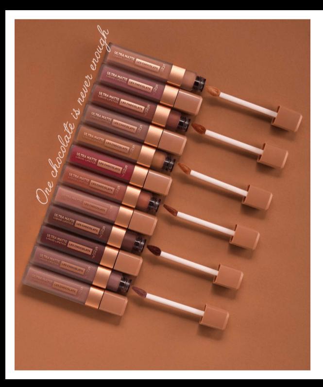 L'Oreal Paris Le Chocolat: arrivano i rossetti al cioccolato… uno tira l'altro