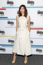 Gemma Chan in Adeam al 'The IMDb Show', California