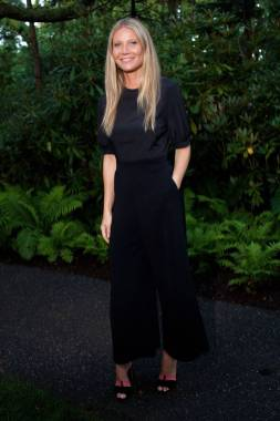 Gwyneth Paltrow alla Net-A-Porter x GOOD+ Foundation summer dinner, the Hamptons