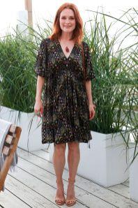 Julianne Moore al lancio del Westman Atelier, Montauk.
