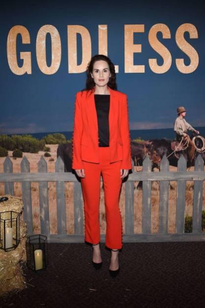 MIchelle Dockery alla Netflix celebration of 12 Emmy nominations for 'Godless'
