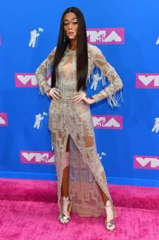 Winnie Harlow in Zuhair Murad agli MTV Video Music Awards, New York