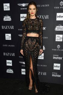 Alessandra Ambrosio al Harper's Bazaar Icons party durante la New York Fashion Week
