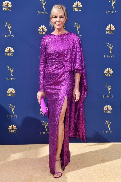 Allison Janney in Prabal Gurung agli Emmy Awards, California