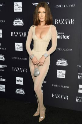 Bella Hadid al Harper's Bazaar Icons party durante la New York Fashion Week