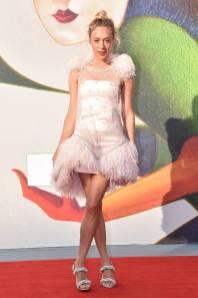 Chloe Sevigny in Chanel Couture al 'L'Annee Derniere a Marienbad' premiere Venice Film Festival