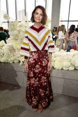 Katie Holmes al Zimmermann show, New York Fashion Week
